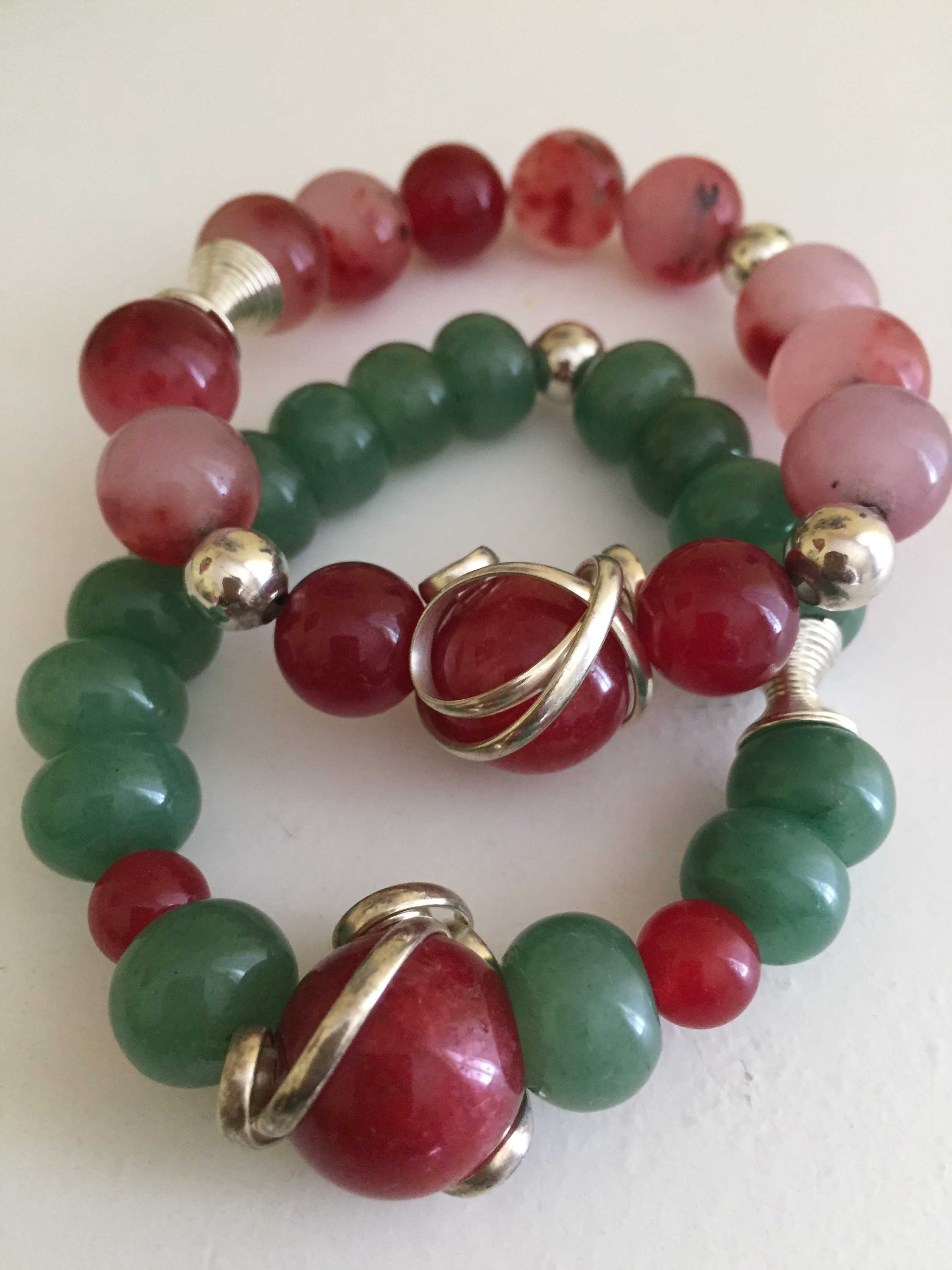 ba ruby item lane bead necklace sterling beads carved jade natural hand sold huge vintage